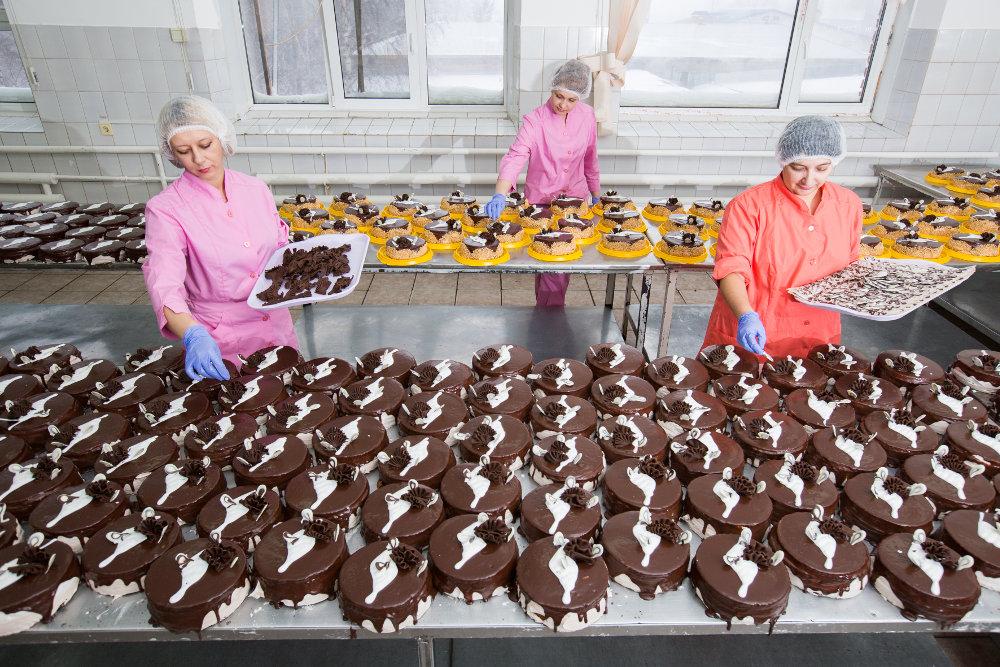 хассп на производстве тортов
