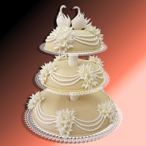 Свадебные торты с марципаном торты на